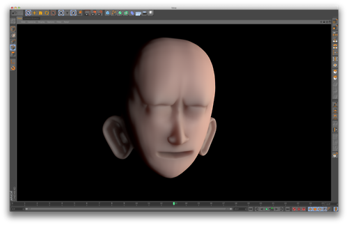 Head Modelling in Cinema 4D